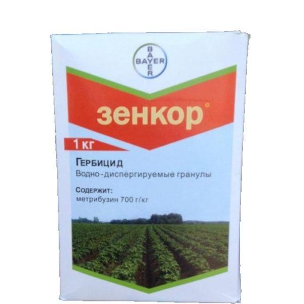 фото гербицида Зенкор 1 кг